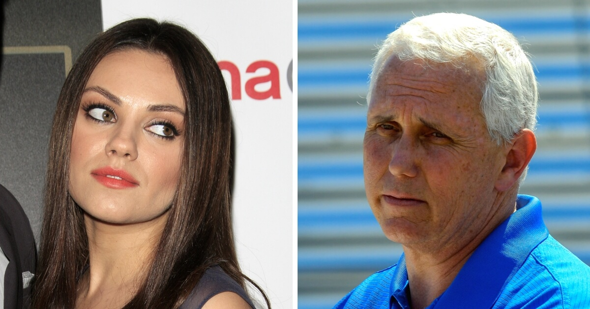 Actress Mila Kunis Says She Set Up Monthly Donation to Planned Parenthood In Mike Pence's Name