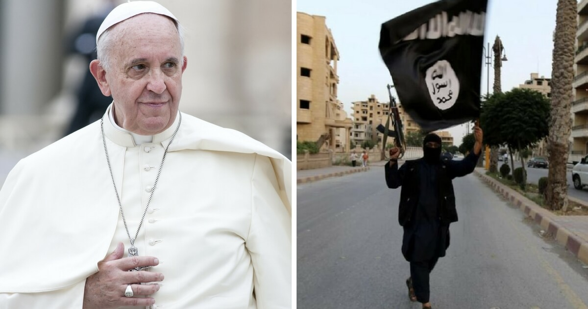 Pope Francis, Isis