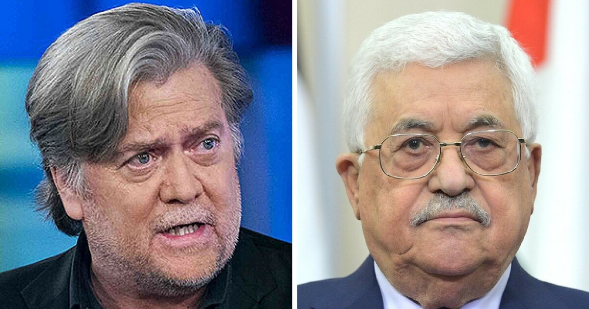 Bannon Refuses Lunch With Palestinian President, Did Not Want to 'Breath the Same Air as a Terrorist'