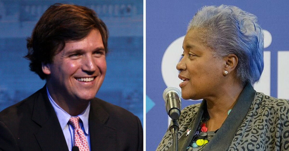 Brazile Reveals Why She Leaked CNN Debate Questions to Hillary, Tucker Bursts Out Laughing