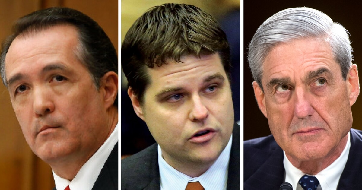 House Republicans Launch Effort to Remove Mueller as Special Prosecutor