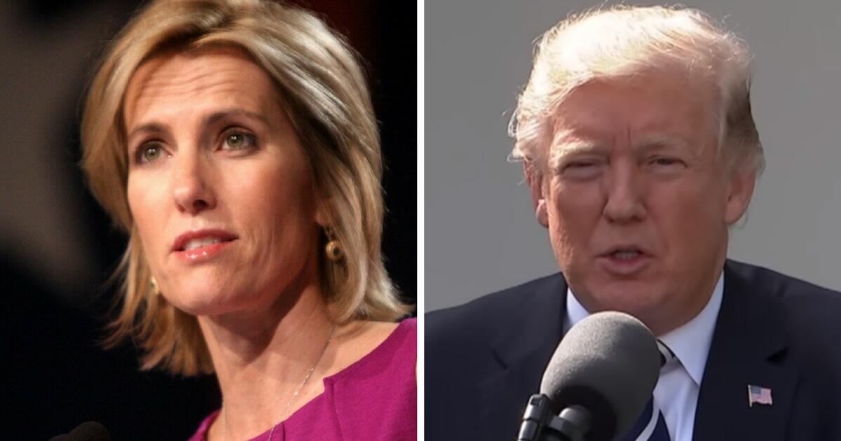 Laura Ingraham: Issues Warning of 'Plot' Against Donald Trump