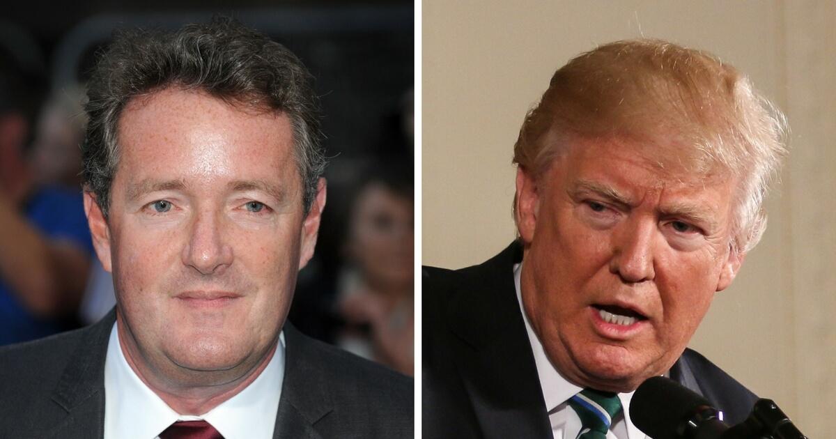 Piers Morgan: 'It's No Wonder' the Media Can't Stand Trump