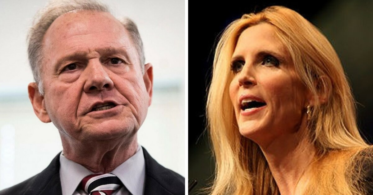 Roy Moore, Ann Coulter