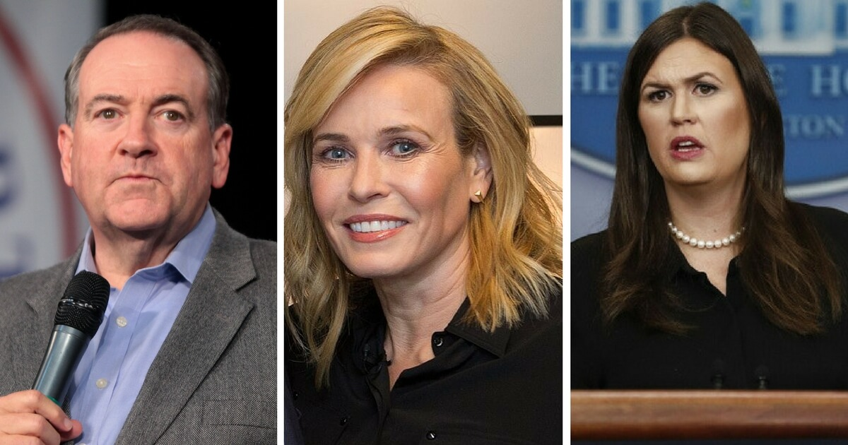 Mike Huckabee Has a Simple Response to Chelsea Handler's Bitter Rant Against Sarah