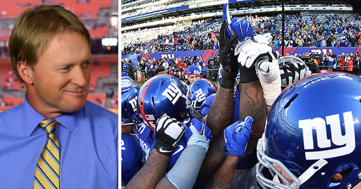 Jon Gruden Fuels The Fire, Says 1 Thing He Needs To Coach NY Giants