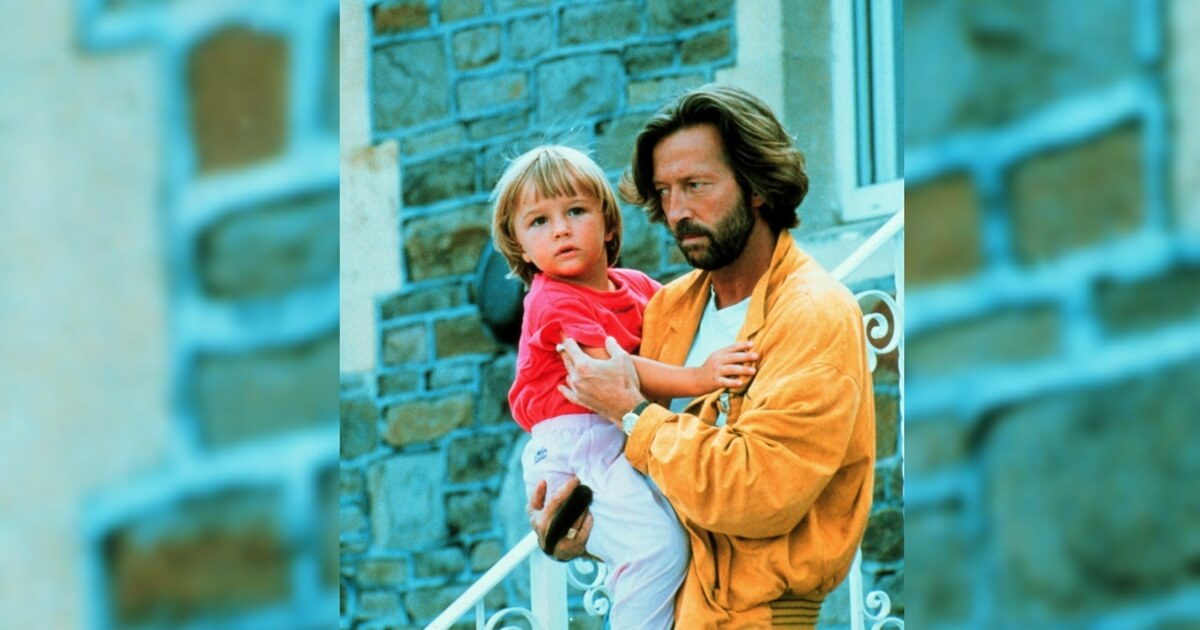 eric clapton spent a year as an island recluse grieving infant son who fell 53 stories to his death. Black Bedroom Furniture Sets. Home Design Ideas