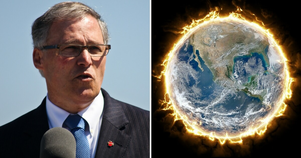 There Are Only 59 Days Left to Save Children from Global Warming, Washington Governor Claims