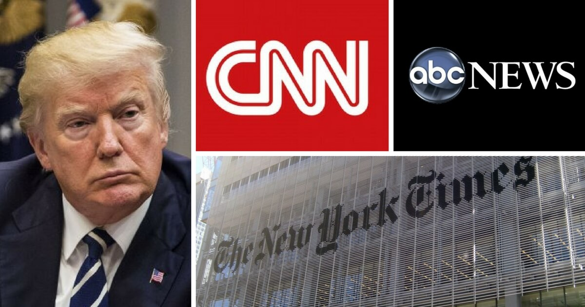Trump Finally Named His 'Fake News Awards' Winners, Here's the List