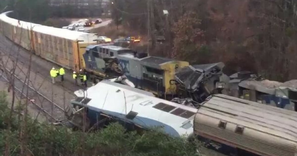 Amtrak Passenger Train Involved In Fatal Collision With ...