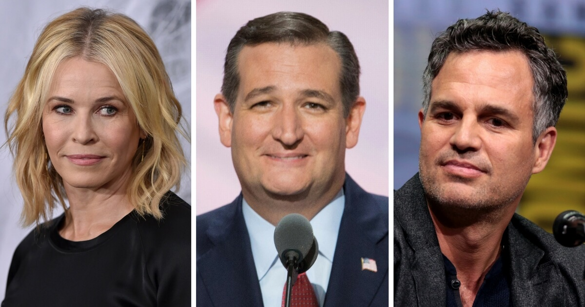 Ted Cruz Attacks Hollywood Liberals: 'No 2nd Amd. For Law-Abiding Americans'