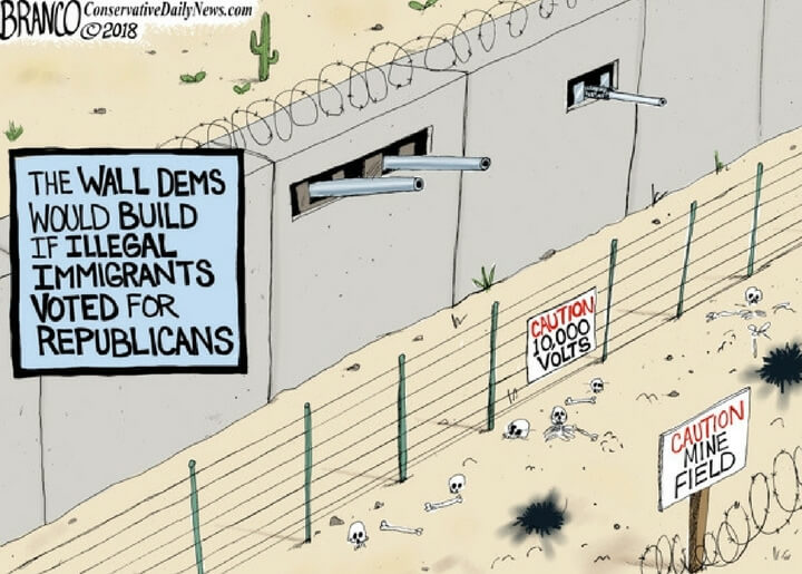 If Illegals Voted Republican
