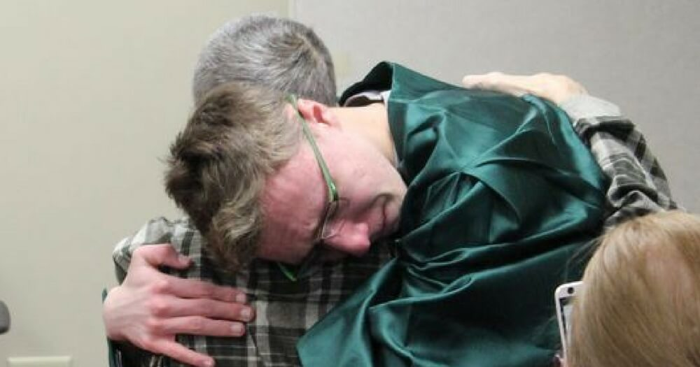 Teen Surprises Terminally Ill Dad with His Last Dying Wish