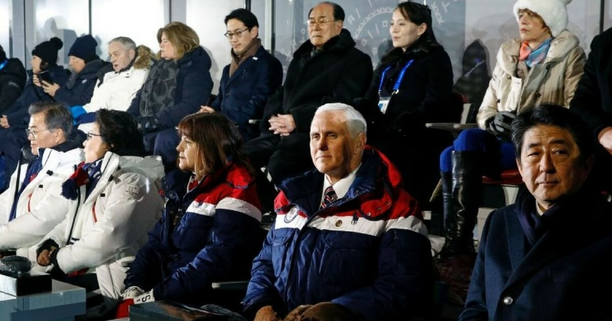 Mike Pence Just Revealed Why He Ignored Kim Jong Un's Sister at the Winter Olympics