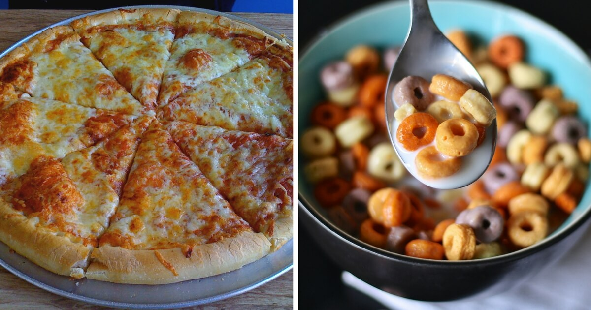 Pizza for breakfast nutritionists say its healthier than cereal ccuart Image collections