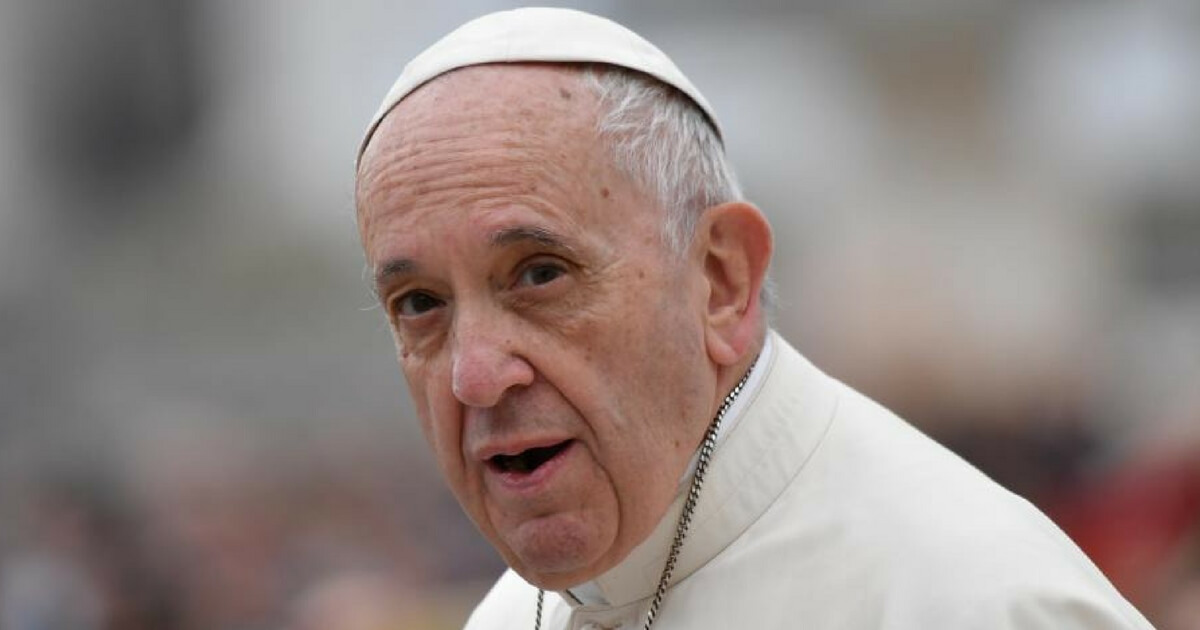 Pope Francis Says He's on 'Waiting List' for Sainthood