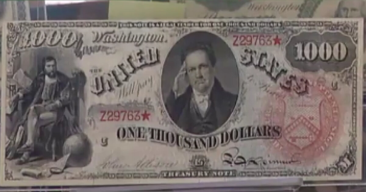 Look: Stunning Collection of Old US Money Is Worth Average of $125,000 Per Bill