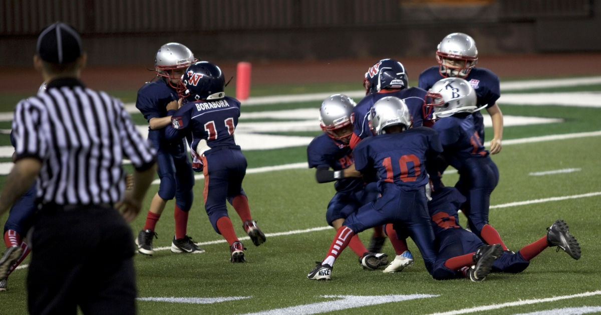 2018 03 16 California May Ban Youth Tackle Football  >> State Makes Big Move To Become First To Ban Youth Tackle Football