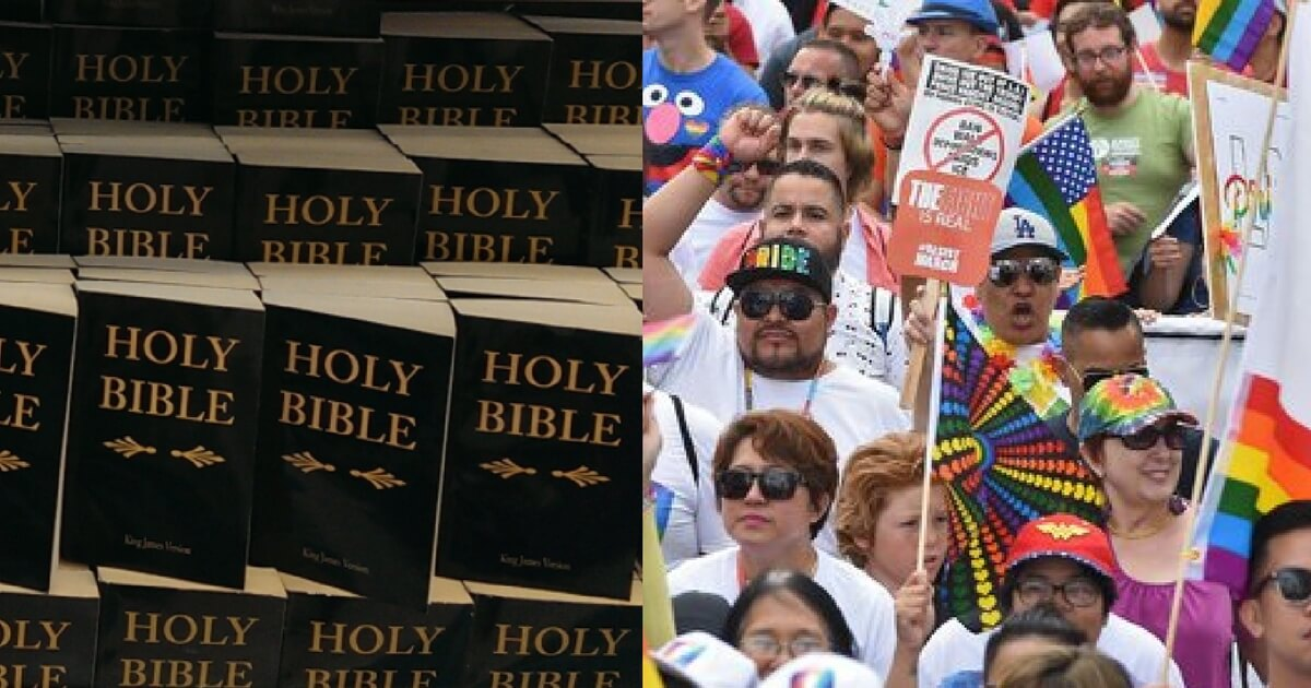 Developing: California Pushes Bill That Appears To Ban Sale of Bibles