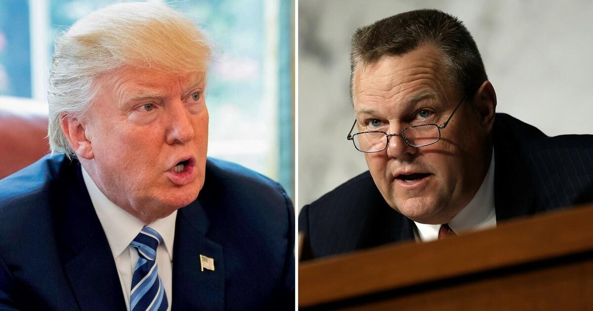 Trump Urges Senator To Resign Over False Allegations Against VA Sec. Nominee