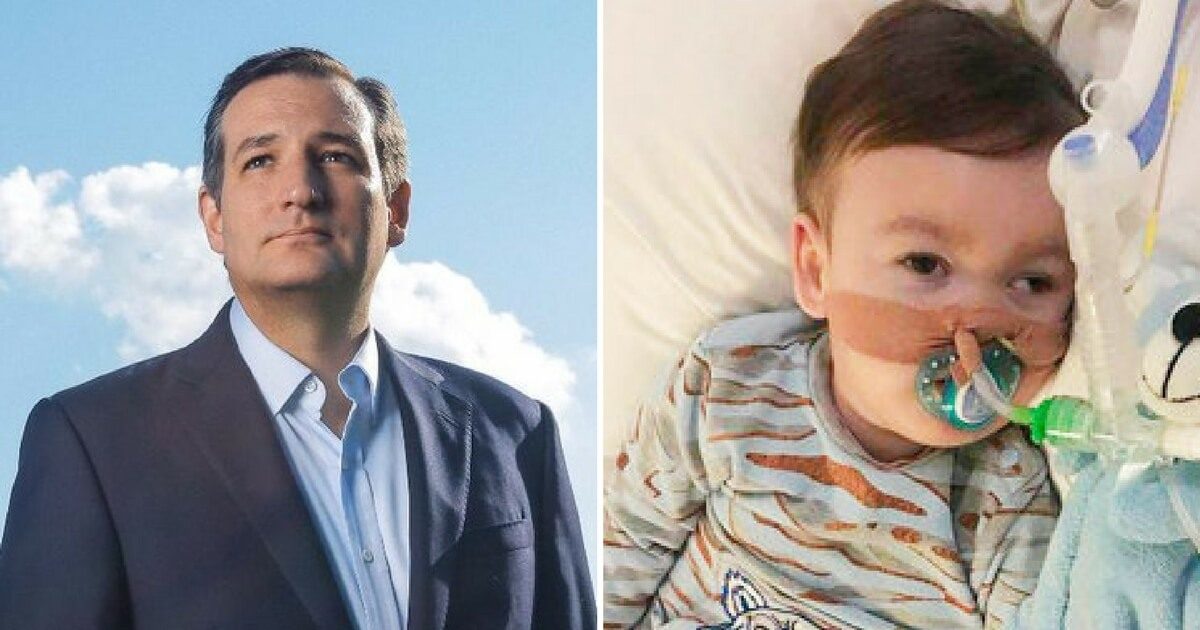 Ted Cruz Speaks Out for Alfie, Calls for Prayers for Baby and Family