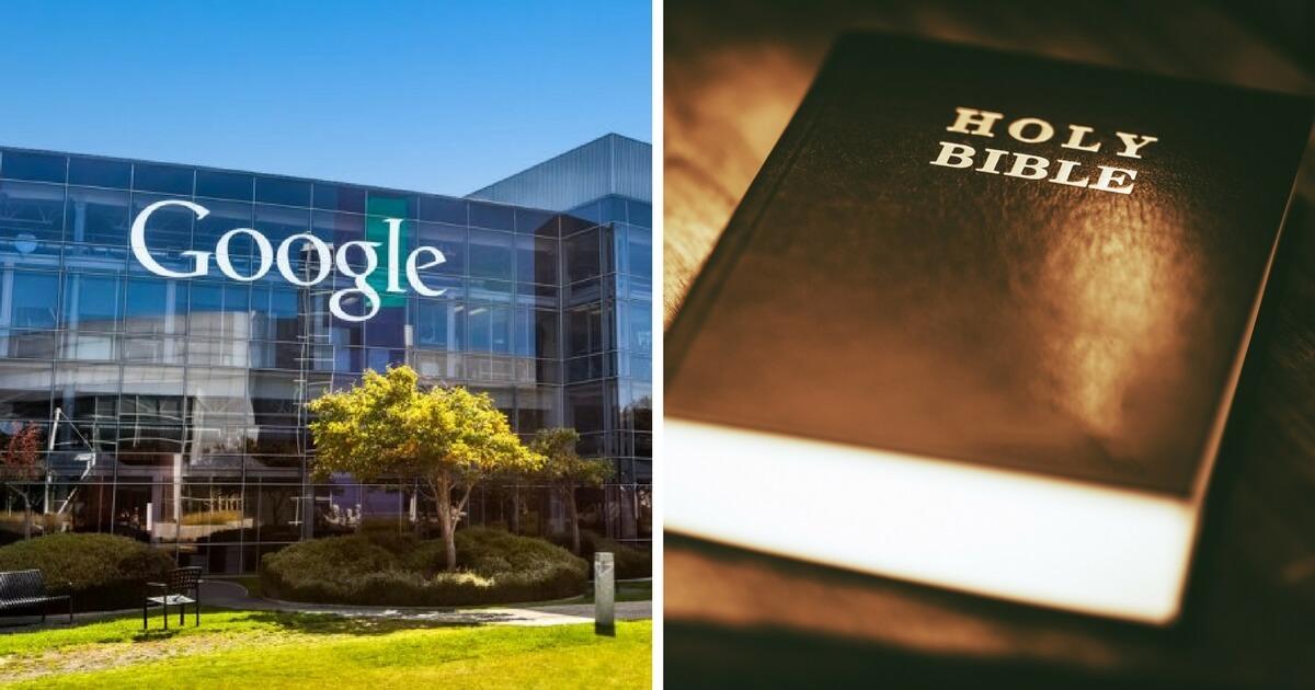 Resultado de imagem para google ban bible