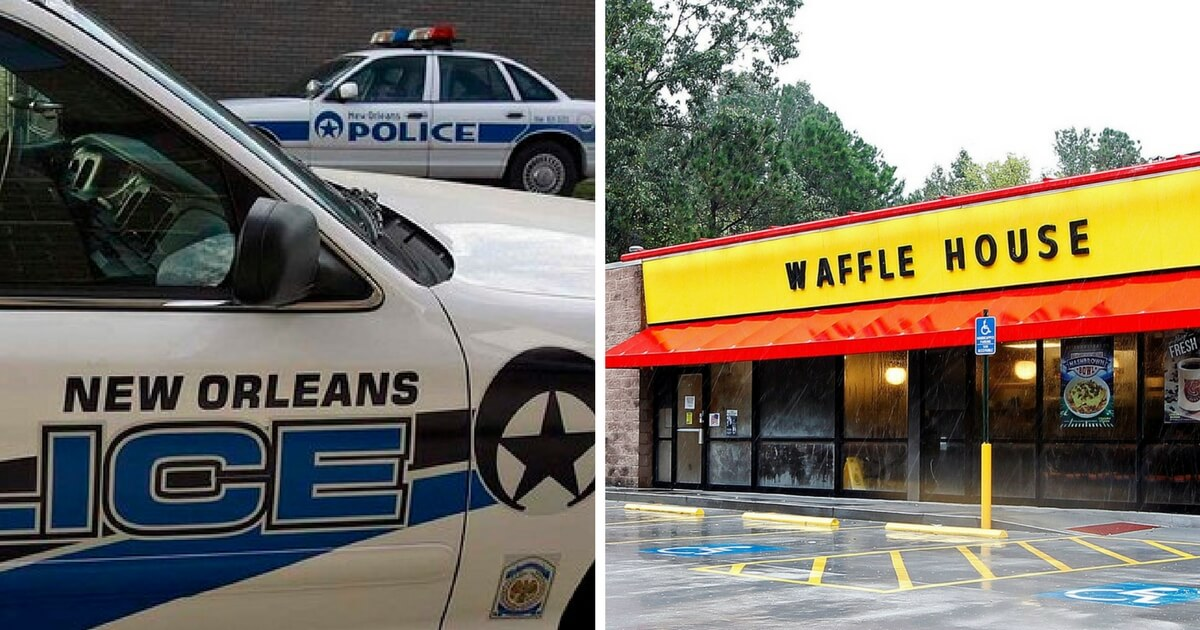 MSM Won't Report Latest Waffle House Shooting Because Robber Left
