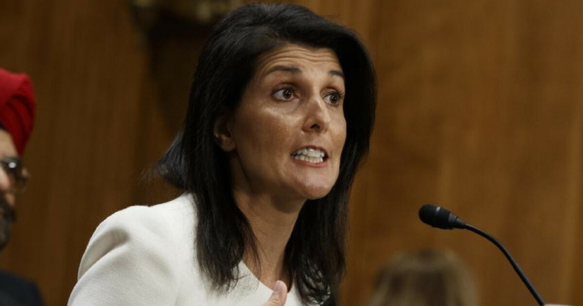 Nikki Haley Warns of Chemical Attack Within US: 'If We're Not Smart'