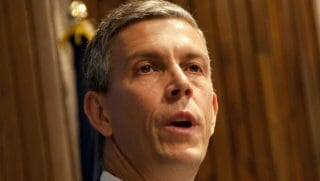 Former Education Secretary Arne Duncan
