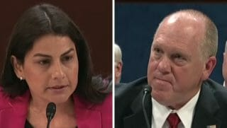 Nanette Barragan, thomas homan