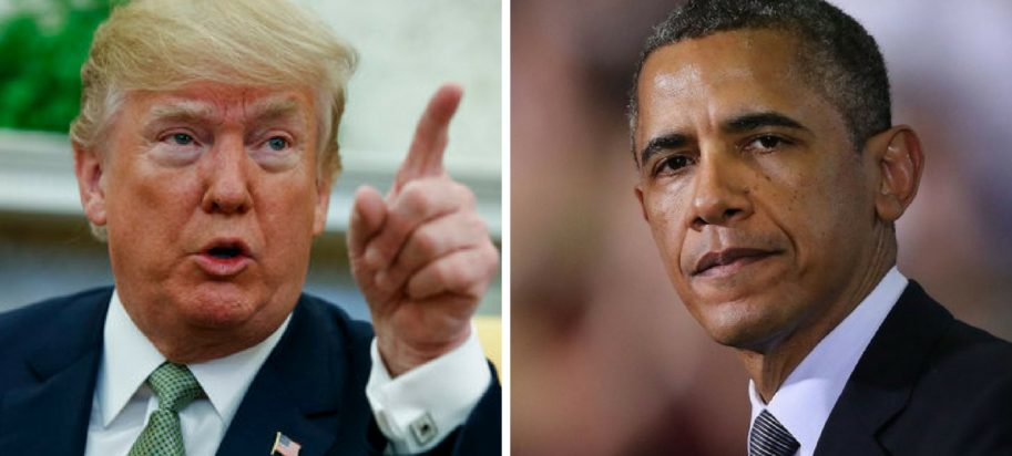 donald trump, barack obama