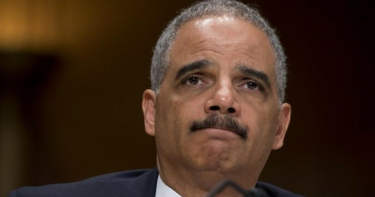 Scrambling Holder Pushes DOJ To Defy President's Order To Investigate FBI