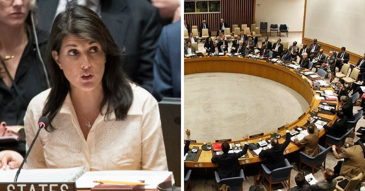 Haley to Countries at UN Assembly: Israel's Shown More Restraint Than You Would
