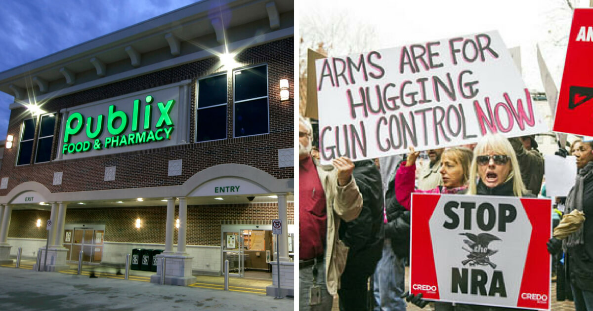Gun Grabbers Want to Shut Down Publix -- Let's Give Them Some Business