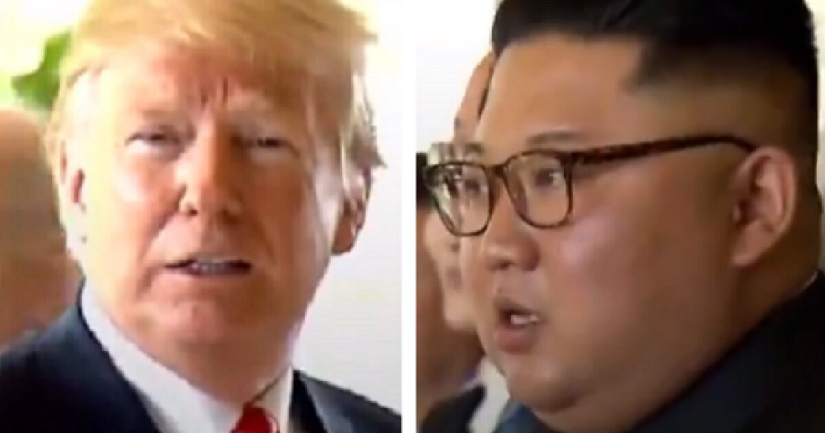 Hilarious: Watch as Trump Makes Fat Joke at Summit, Kim Is Not Amused