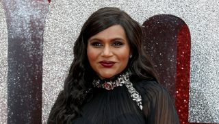 Mindy Kaling attends the 'Ocean's 8' UK Premiere held at Cineworld Leicester Square on June 13, 2018, in London, England.