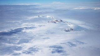 NASA footage of Antarctica.