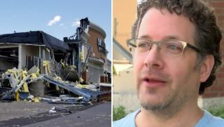 Barnes and Noble destroyed by tornado
