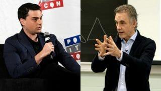 Ben Shapiro and Dr. Jordan Peterson.