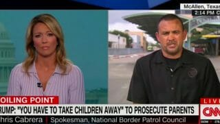 Brooke Baldwin interview border patrol agent Chris Cabrera.