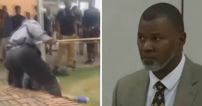 In 2015, Calvin Nicholas was suspended, then fired as the principal at Scotlandville Magnet High school after using a walking stick to break up a fight between students.