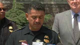 Chief Morales gets fed up when reporters ask controversial questions of an officer's death.