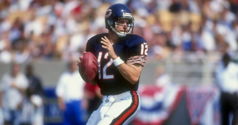 """The wife of former Chicago Bears quarterback Erik Kramer says he is on a """"manhunt"""" and out to kill her and their daughter."""