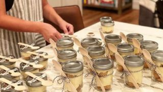 Joanna Gaines makes pudding