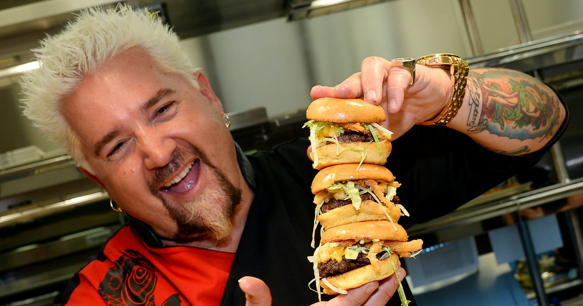 Why Guy Fieri Keeps His Reviews Positive on Food Network's 'Diners, Drive-Ins, and Dives'