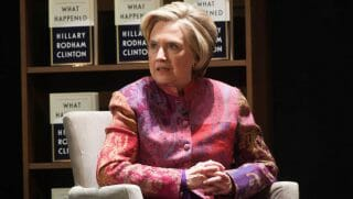 Hillary Clinton speaks on her book 'What Happened.'