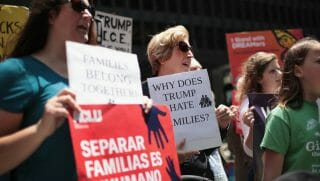 Immigration Family Protests