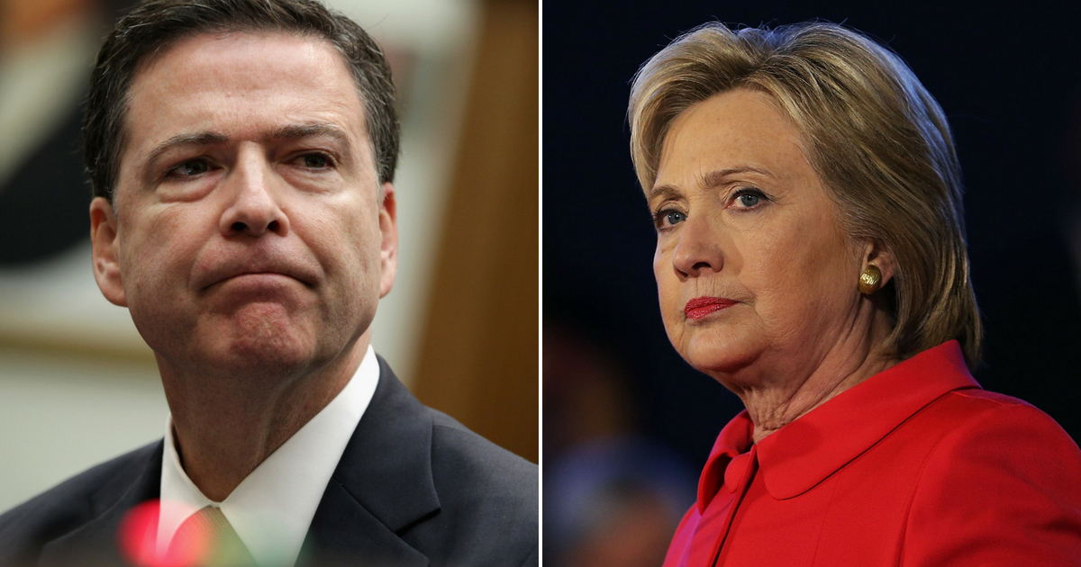 Watchdog Report: Comey 'Deviated' From FBI Procedures in Hillary Email Investigation