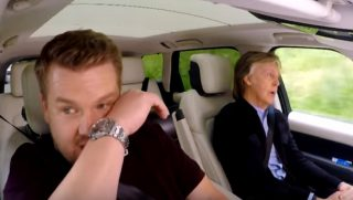 James Cordon and Paul McCartney
