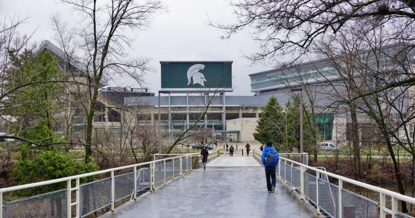 Michigan State University campus